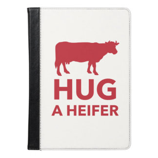 Dairy Farm Hug a Heifer Funny iPad Air Case