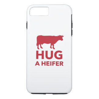Dairy Farm Hug a Heifer Funny iPhone 7 Plus Case