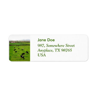 Dairy Farm Label