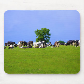 Dairy farm mouse pad