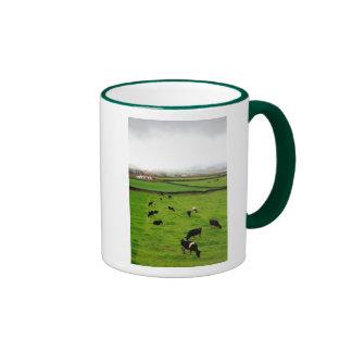 Dairy Farm Ringer Coffee Mug