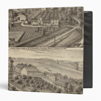Dairy farms of RS Houston and WC White Binder
