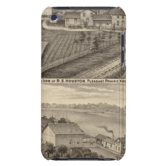 Dairy farms of RS Houston and WC White iPod Touch Case