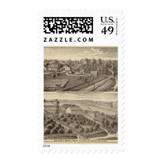 Dairy farms of RS Houston and WC White Postage