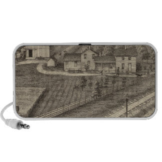 Dairy farms of RS Houston and WC White Portable Speakers