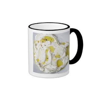 Dairy, Food, Food And Drink, Mascarpone, Cheese Ringer Coffee Mug