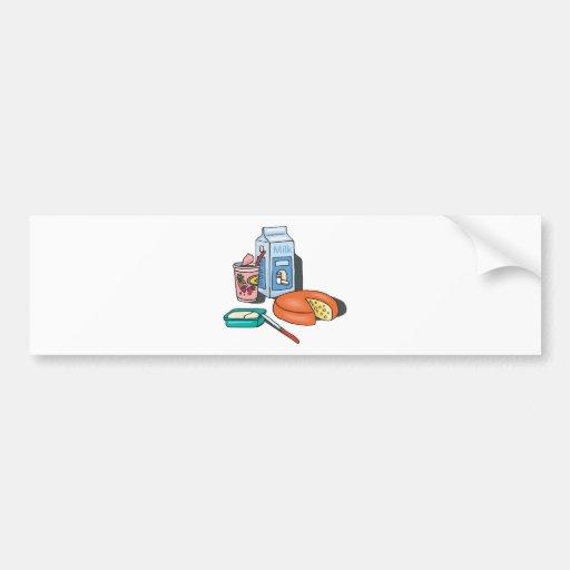 dairy foods car bumper sticker