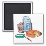 dairy foods refrigerator magnet
