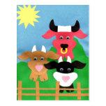 Dairy Fun Postcard