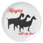 Dairy Goats Dinner Plate