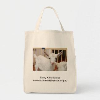 Dairy Kills Babies Tote Bag