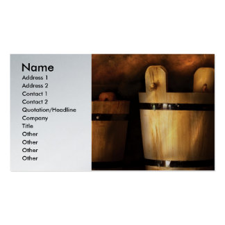 Dairy - Pails for sale Business Card