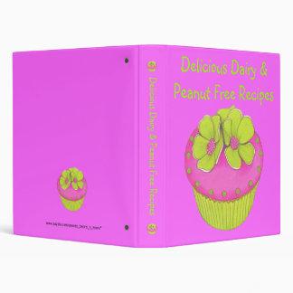 Dairy & Peanut Free Recipes~Allergies Cook Book Vinyl Binders
