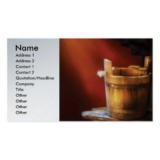 Dairy - Water pail and ladel Business Card