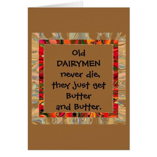 dairymen humor card