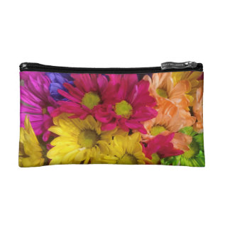Daises Cosmetic Bag at Zazzle