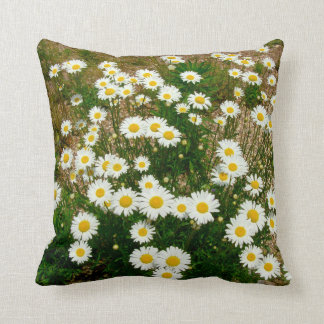 Daises Throw Pillows