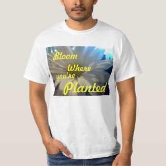 """""""DAISEY BLOOM WHERE YOU'RE PLANTED"""" T SHIRT"""