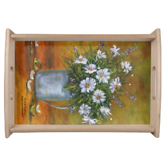 """""""DAISEY SERVING TRAY"""" SERVING TRAY"""