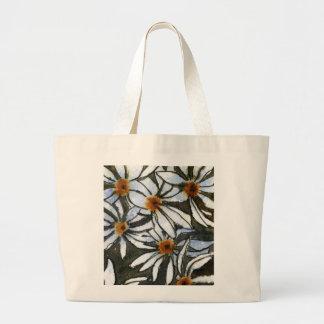 """Daisies #2"" Floral Tote Bag"