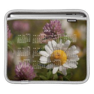 Daisies and Clover; 2013 Calendar iPad Sleeve