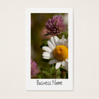 Daisies and Clover Business Card
