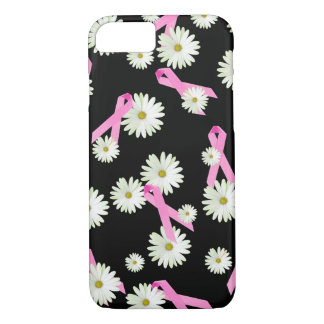 Daisies and Pink Ribbons iPhone 8/7 Case