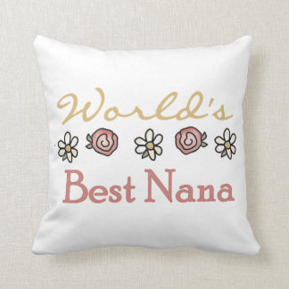 Daisies and Roses Best Nana Gifts Pillows
