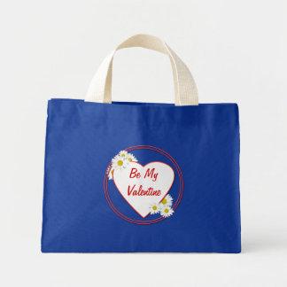 Daisies Be My Valentine Tiny Tote Bag