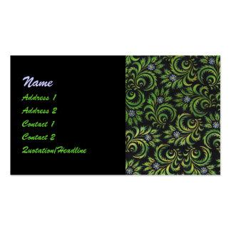 daisies business card