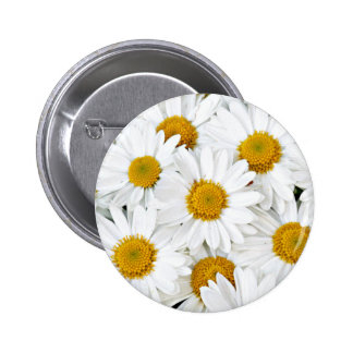Daisies 2 Inch Round Button