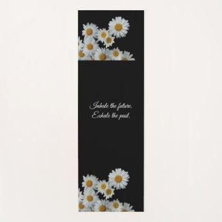 Daisies by ElleDee Yoga Mat