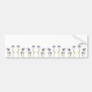 DAISIES by SHARON SHARPE Bumper Sticker