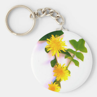 Daisies By The Cat Project Keychain