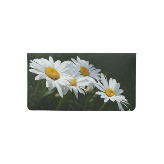 Daisies Checkbook Cover