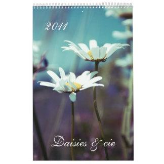 Daisies & cie II 2011 calendar
