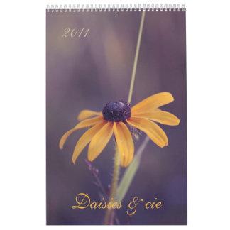 Daisies & cie III 2011 calendar