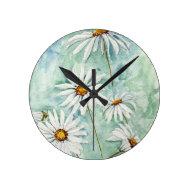'Daisies' Clock