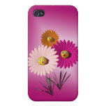 Daisies Cover For iPhone 4