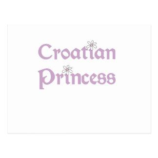 Daisies Croatian Princess Postcard