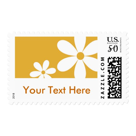 Daisies - Customized Postage
