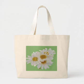 Daisies Digitially Painted Large Tote Bag