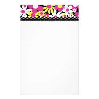 Daisies, Dots n Ladybugs Collection Stationery