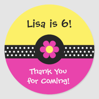 Daisies, Dots n Ladybugs | Personalized Stickers