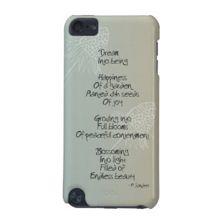 Daisies Dream Poem iPod Touch (5th Generation) Case