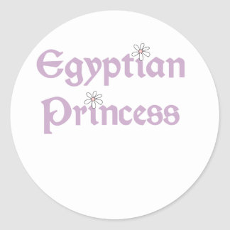 Daisies Egyptian Princess Stickers