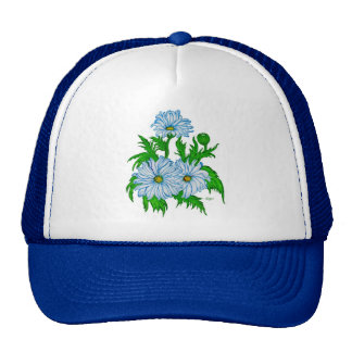Daisies flower trucker hat