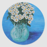 Daisies for Ditte Classic Round Sticker