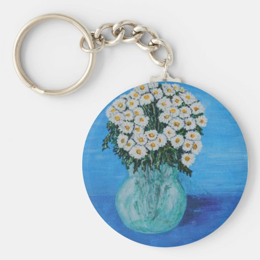 Daisies for Ditte Key Chain