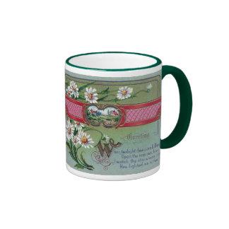 Daisies For My Love Coffee Mug
